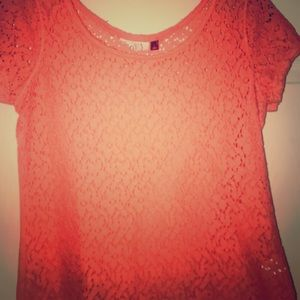 SO Girl's beautiful top Size L